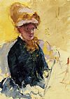 Mary Cassatt Self Portrait painting