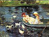Mary Cassatt Summertime 2 painting