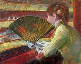 Mary Cassatt Theater painting