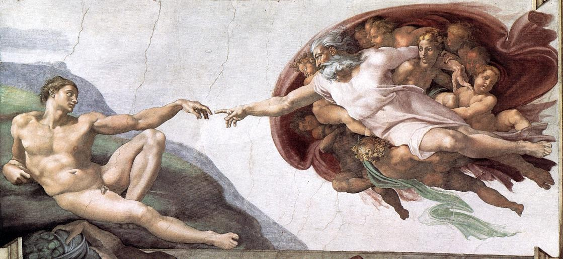 Michelangelo Buonarroti Creation of Adam