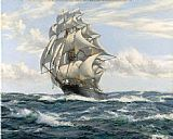 Montague Dawson The Flying Fish painting