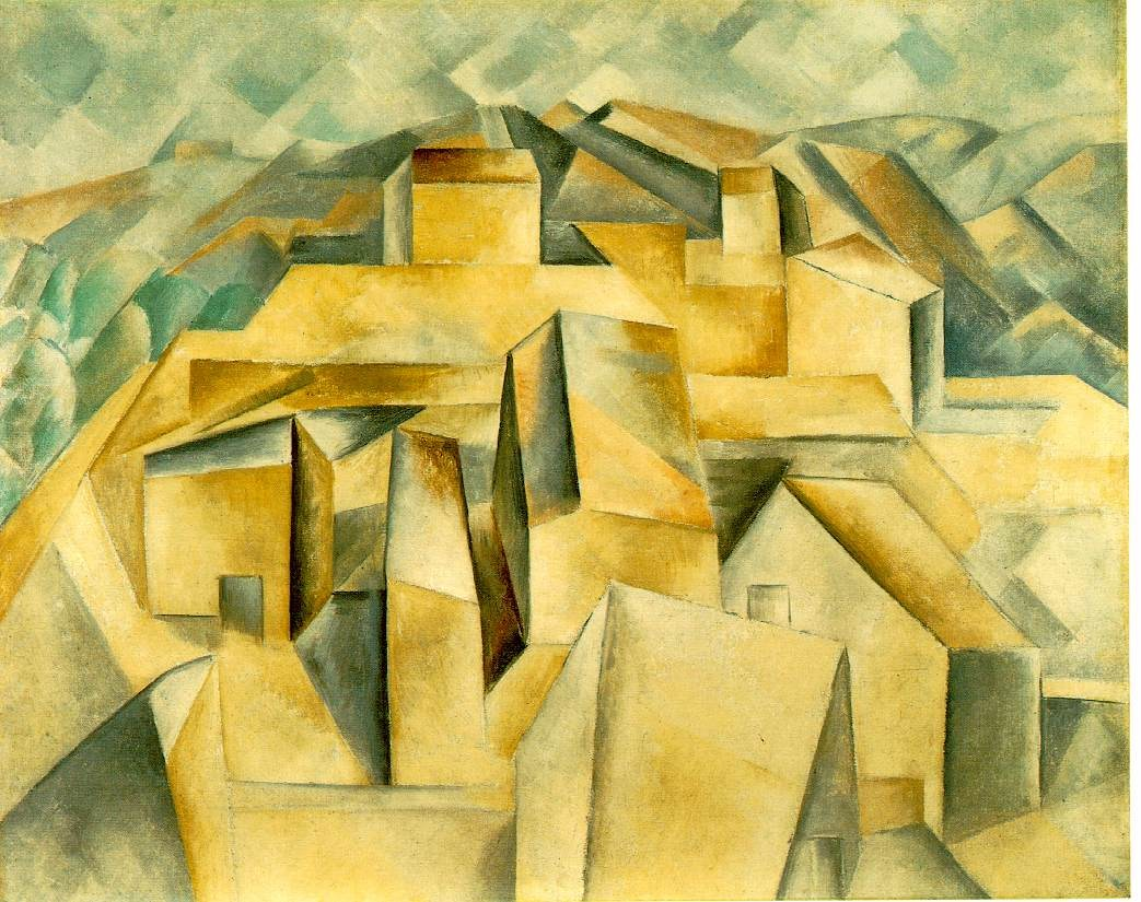 Pablo Picasso Houses on the Hill Horta de Ebro
