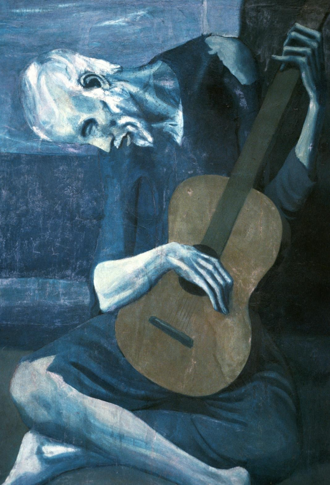 Pablo Picasso The Old Guitarist 1903