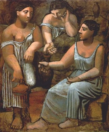 Pablo Picasso Three Women at the pring