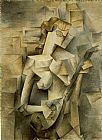 Pablo Picasso Girl with Mandolin Fanny Tellie painting