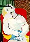 Pablo Picasso The Dream painting