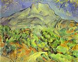 Paul Cezanne Mount Sainte Victoire painting
