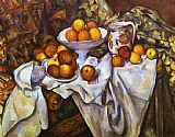 the kiss (le baiser _ il baccio) Paintings - Still Life with Apples and Oranges