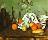 Still Life paintings - Still Life with Fruit by Paul Cezanne