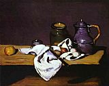 the kiss (le baiser _ il baccio) Paintings - Still Life with Kettle