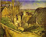 Paul Cezanne The Hanged Man's House painting