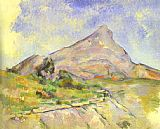 Paul Cezanne The Mount of St.Victoria painting