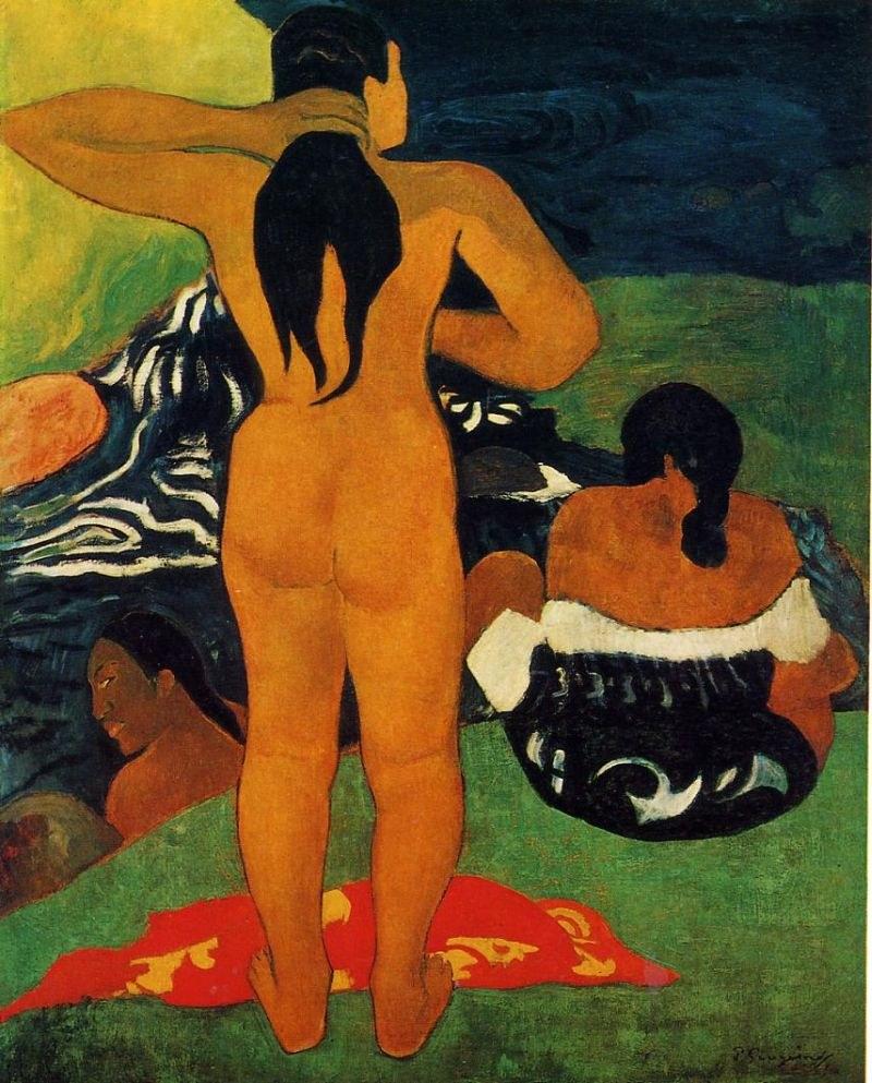 Paul Gauguin Tahitian Women Bathing