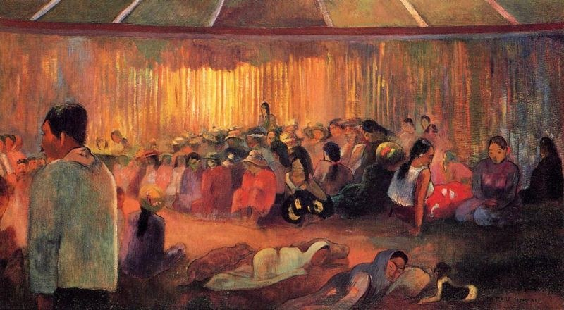 Paul Gauguin The House of Hymns