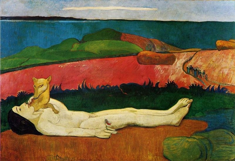 Paul Gauguin The Loss of Virginity