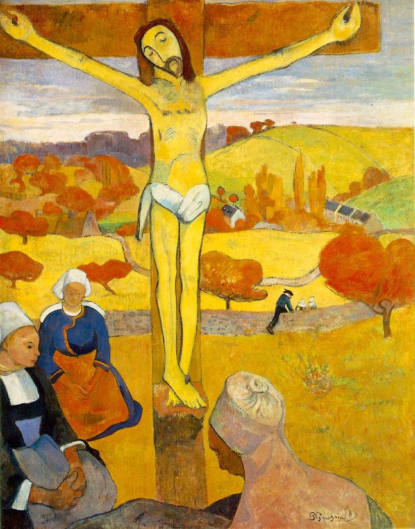 Paul Gauguin The Yellow Christ