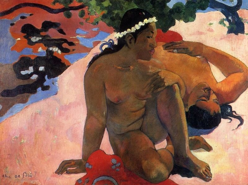 Paul Gauguin What Are You Jealous