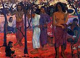 Paul Gauguin Delightful Day painting