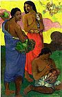 Paul Gauguin Maternity II painting