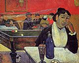 Paul Gauguin Night Cafe at Arles painting