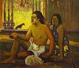 Paul Gauguin Not Working painting