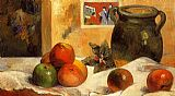 Paul Gauguin Still Life with Japanese Print painting