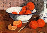 Still Life paintings - Still Life with Oranges by Paul Gauguin