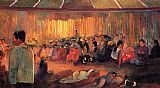 Paul Gauguin The House of Hymns painting