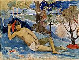Paul Gauguin The Queen of Beauty painting