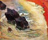Paul Gauguin The Wave painting