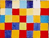 Paul Klee Farbtafel painting