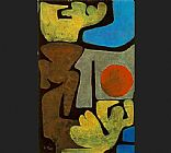 Paul Klee Park of Idols painting
