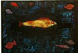 Paul Klee The Golden Fish painting
