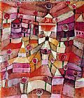 Paul Klee The Rose Garden painting