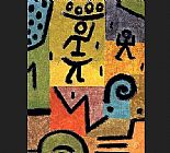 Paul Klee Zitronen painting