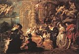 Peter Paul Rubens Garden of Love painting