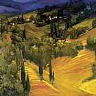 Mediterranean paintings - Classic Tuscany by Philip Craig