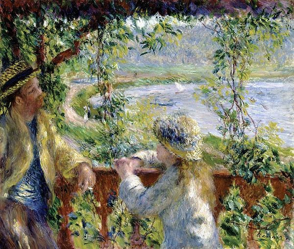 Pierre Auguste Renoir By the Water