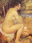 Pierre Auguste Renoir Seating Girl painting