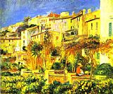 Pierre Auguste Renoir Terrace at Cagnes painting
