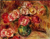 Pierre Auguste Renoir Vase of Flowers II painting