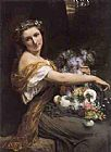 Pierre-Auguste Cot Dionysia painting