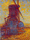Piet Mondrian Mill in Sunlight painting