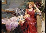 Pino A Mother's Love painting