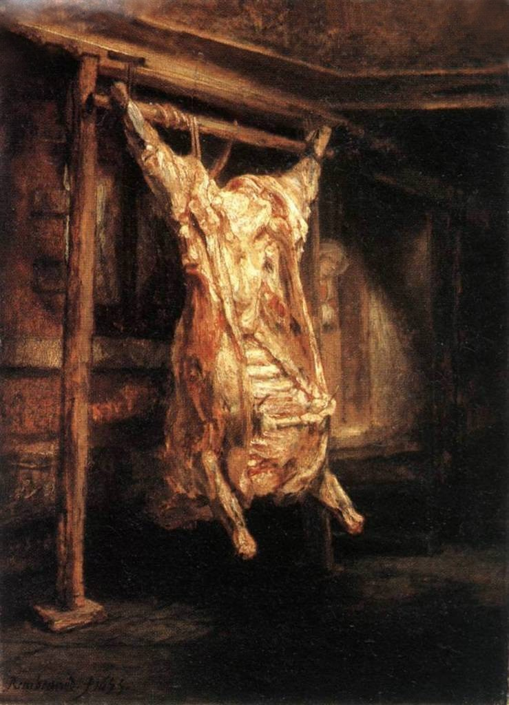 Rembrandt The Slaughtered Ox