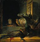 Rembrandt Dead peacocks painting
