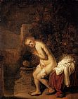 Rembrandt Susanna and the Elders painting