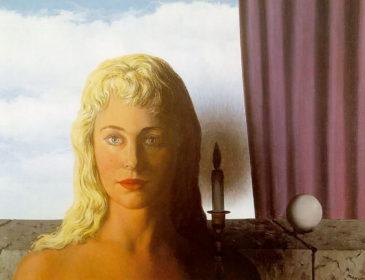 Rene Magritte The Ignorant Fairy