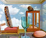 Rene Magritte Personal Values painting