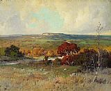 Robert Wood Autumn in the Desert painting